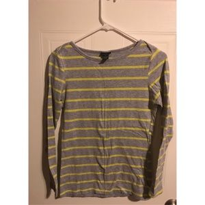 Rue 21 Grey Stripped Shirt